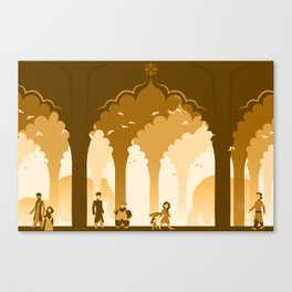 Palace Life Canvas Print