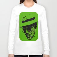 literature Long Sleeve T-shirts featuring Outlaws of Literature (Hunter S. Thompson) by Silvio Ledbetter