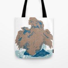 Surtseyan Volcanic Eruption Tote Bag