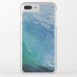 blue planet Clear iPhone Case