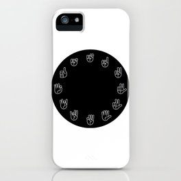 Sign Language Cloack iPhone Case