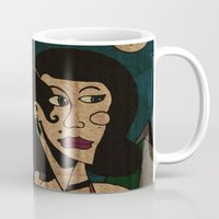 noir Mugs featuring Noir by Matt Jeffs