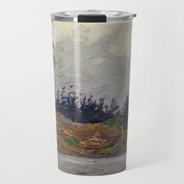 Tom Thomson - Early Morning, Georgian Bay - Canada, Canadian Oil Painting - Group of Seven Travel Mug