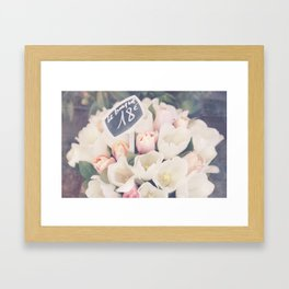 Le Bouquet Framed Art Print
