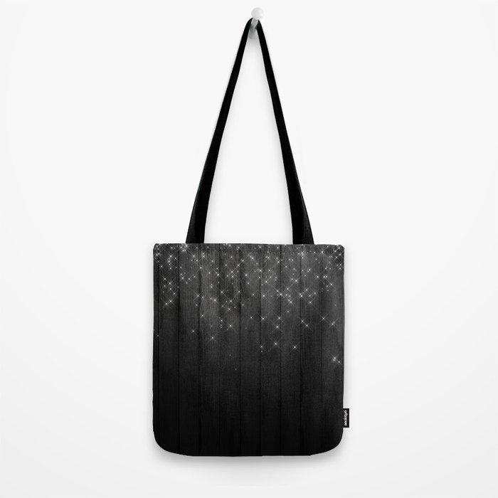 Fairy Lights on Wood 05 Tote Bag