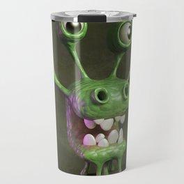 Four-eyed monster Travel Mug