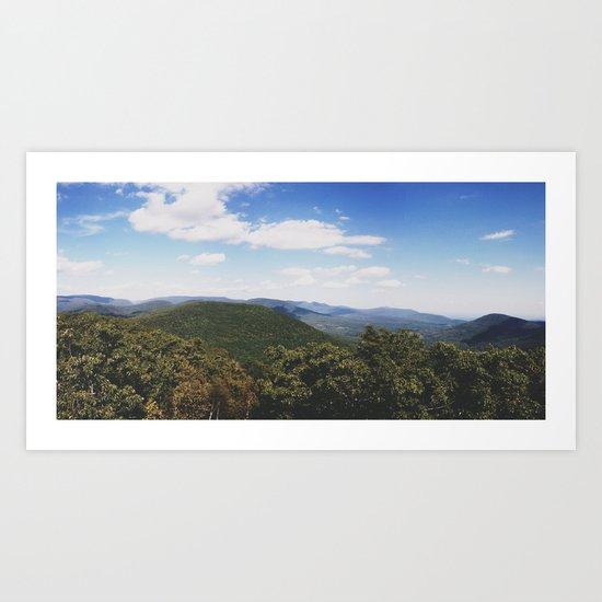 Mt. Tremper Art Print