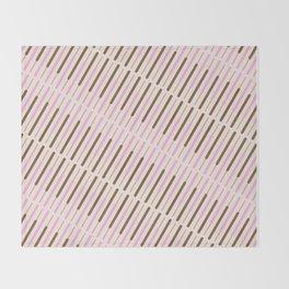 Japanese Chocolate Biscuit Sticks Throw Blanket