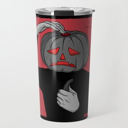 Pumpkin guy Travel Mug
