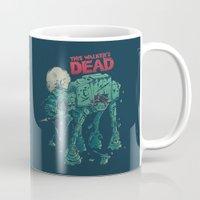 dead Mugs featuring Walker's Dead by Victor Vercesi