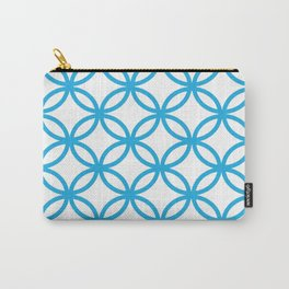 Interlocking Blue Carry-All Pouch