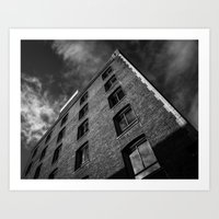 Downtown Building Art Print