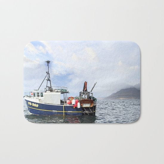 Gone Fishin' Bath Mat