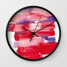 20   | 190623 | Colour Study Watercolor Painting Wall Clock