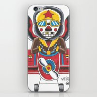 airplane iPhone & iPod Skins featuring Airplane by @VEIGATATTOOER