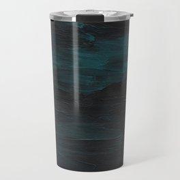 Dark Teal Sea Travel Mug