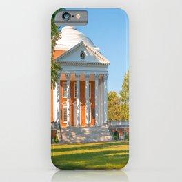 Charlottesville Virginia Campus Lawn Print iPhone Case