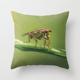 The monsters are others Throw Pillow