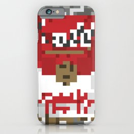 Low res Red Cambell's Soup Cans pixelart 8 Bit Mosaic iPhone Case