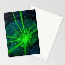 Atlantian Fractal -- Flower of the Long Sleep Stationery Cards