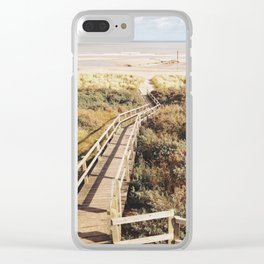 Anderby Bird Hide View Clear iPhone Case