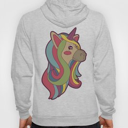 Unicorn Head! Hoody
