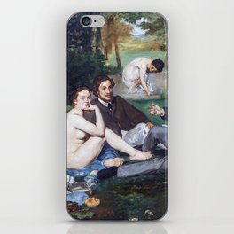 Edouard Manet - Lunch on the Grass iPhone Skin