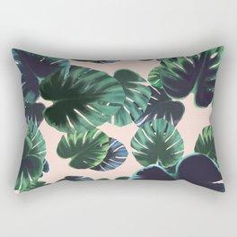 Monstera t(w)oo Rectangular Pillow