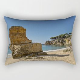 Olhos d'Agua rock. the Algarve Rectangular Pillow