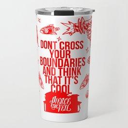 Pierce The Veil Misadventure Red Travel Mug