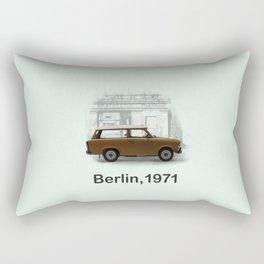 A Trabbi in Berlin Rectangular Pillow