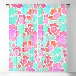 Floral 05 Blackout Curtain