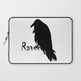 Raven on Raven Laptop Sleeve
