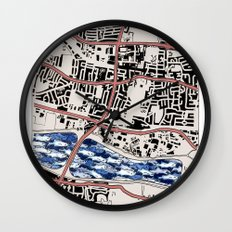 Lacking in Depth Wall Clock