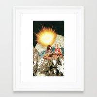 breakfast Framed Art Prints featuring breakfast by Caroline A