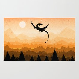 Dragon is coming Rug
