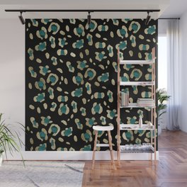 Leopard Animal Print Glam #5 #shiny #pattern #decor #art #society6 Wall Mural