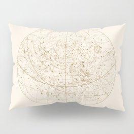Visible Heavens - Gold Pillow Sham