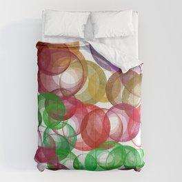 Ring av färger Comforters