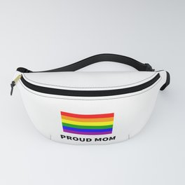 Proud Mom - LGBTQ Flag design for mothers Fanny Pack