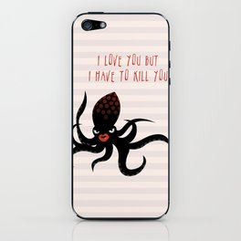 Squid Fatale iPhone Skin