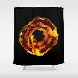 rund 11 - hot pants Shower Curtain