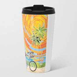 FL Keys Bicycle Travel Mug