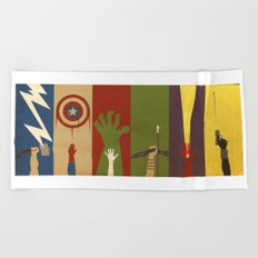Assemble Beach Towel