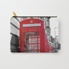 """Classic Britain"" Telephone Booths Carry-All Pouch"