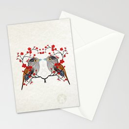 look at me my bird  Stationery Cards