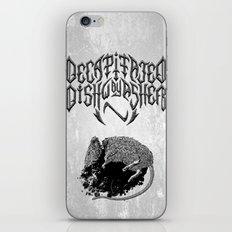 Decapitated by dishwasher I (white) iPhone & iPod Skin