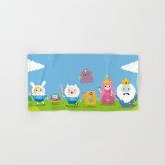 adventure time-olla Hand & Bath Towel