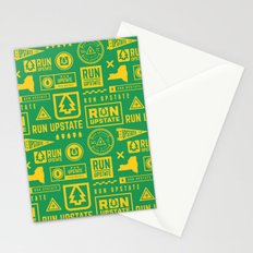 Run Upstate Stationery Cards