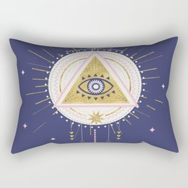 Magical night tarot illustration no5 Rectangular Pillow